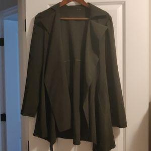 Blazer style longer dress jacket (thin material)